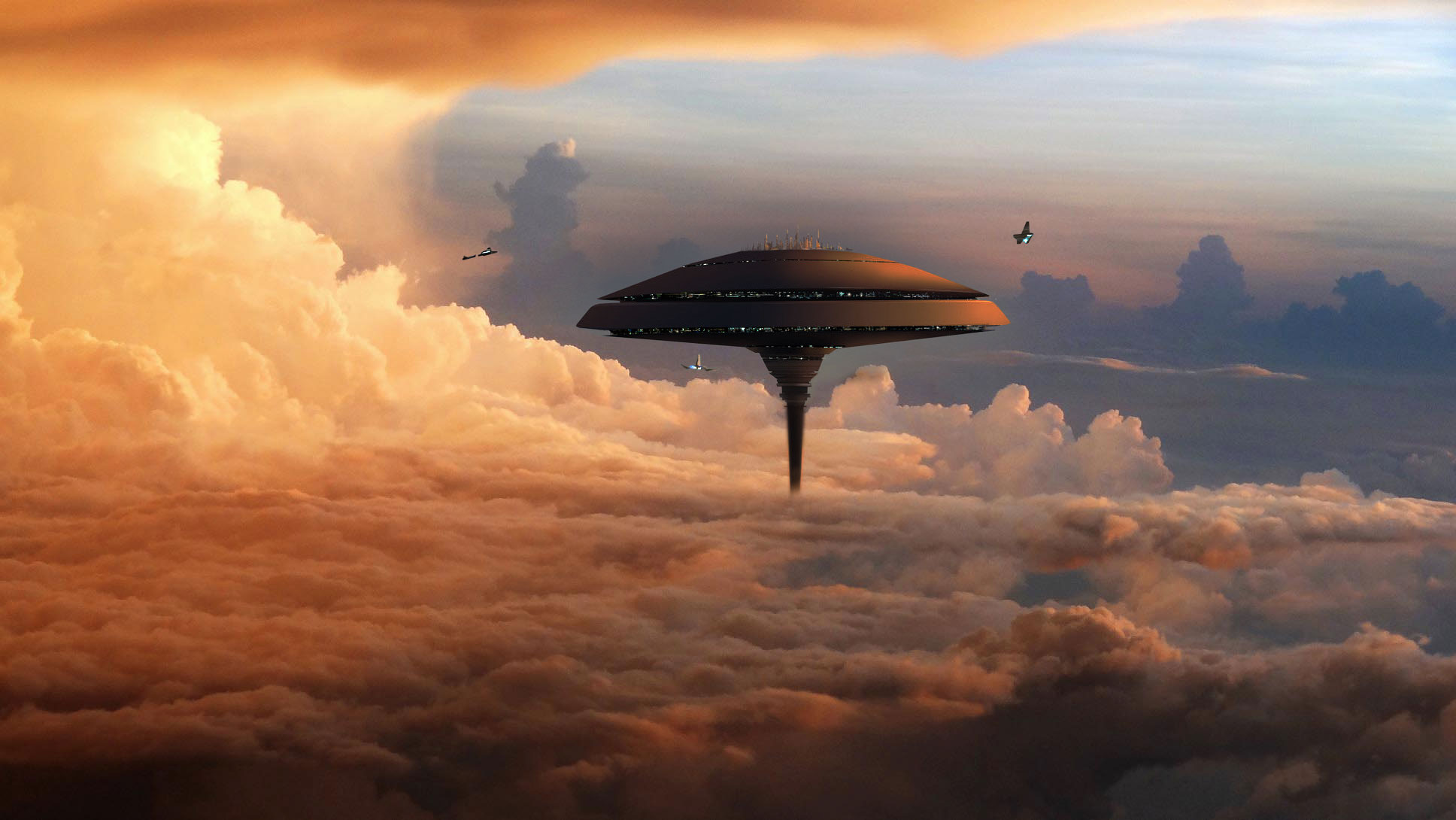 NASA Plans a Floating City over the Clouds of Venus • Apex ...