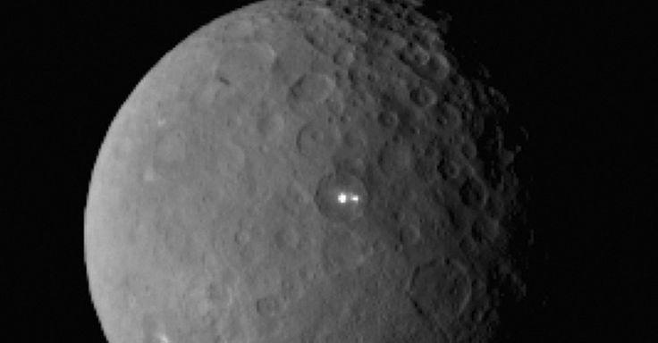 lights on dwarf planet - photo #1