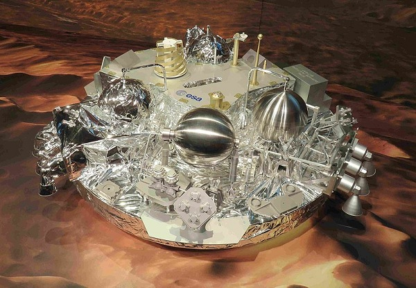 A model of the Schiaparelli rover