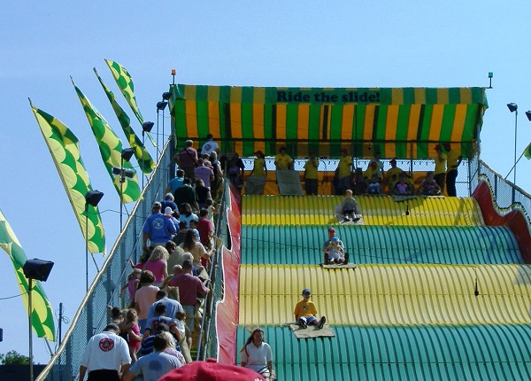minnesota state fair slide