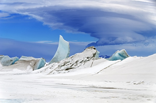 snowball earth landscape