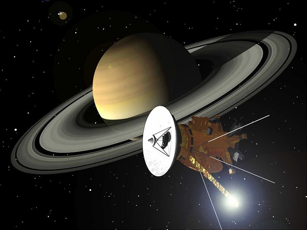 An illustration of Cassini