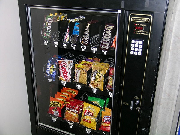 healthier choices vending machine