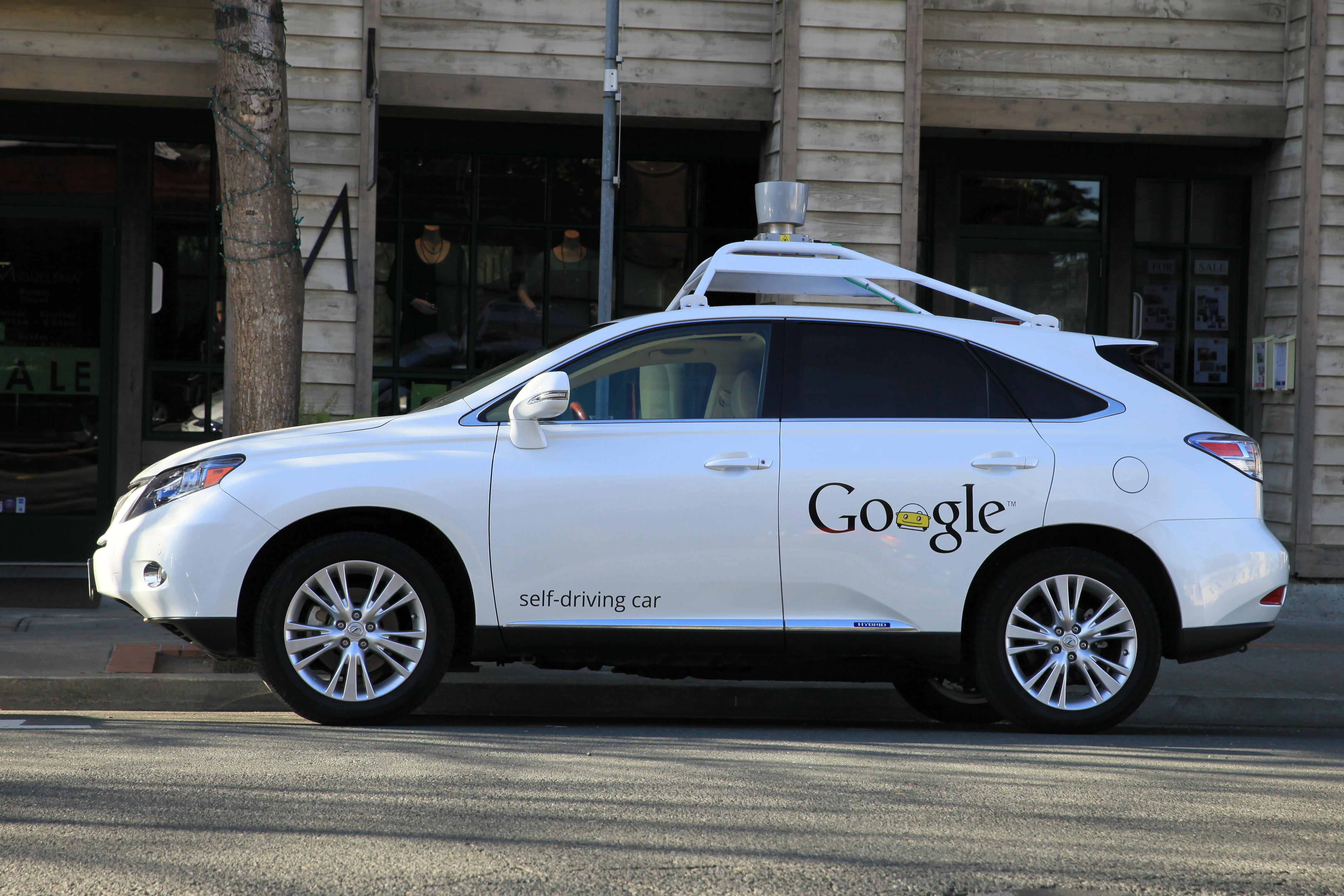 the google self driving car is ready to hit the road apex tribune world latest breaking news. Black Bedroom Furniture Sets. Home Design Ideas