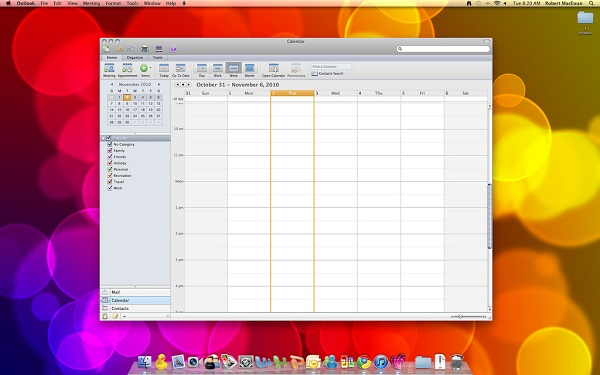 office for mac screenshot