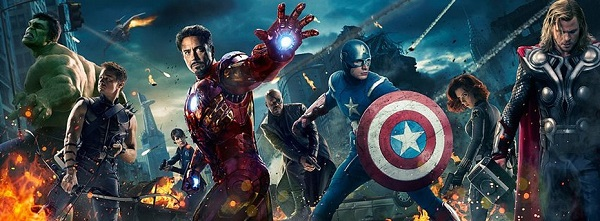 Official poster of the first Avengers movie